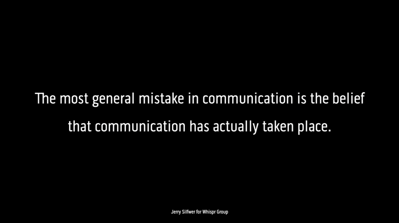 Whispr Group Communication Insights