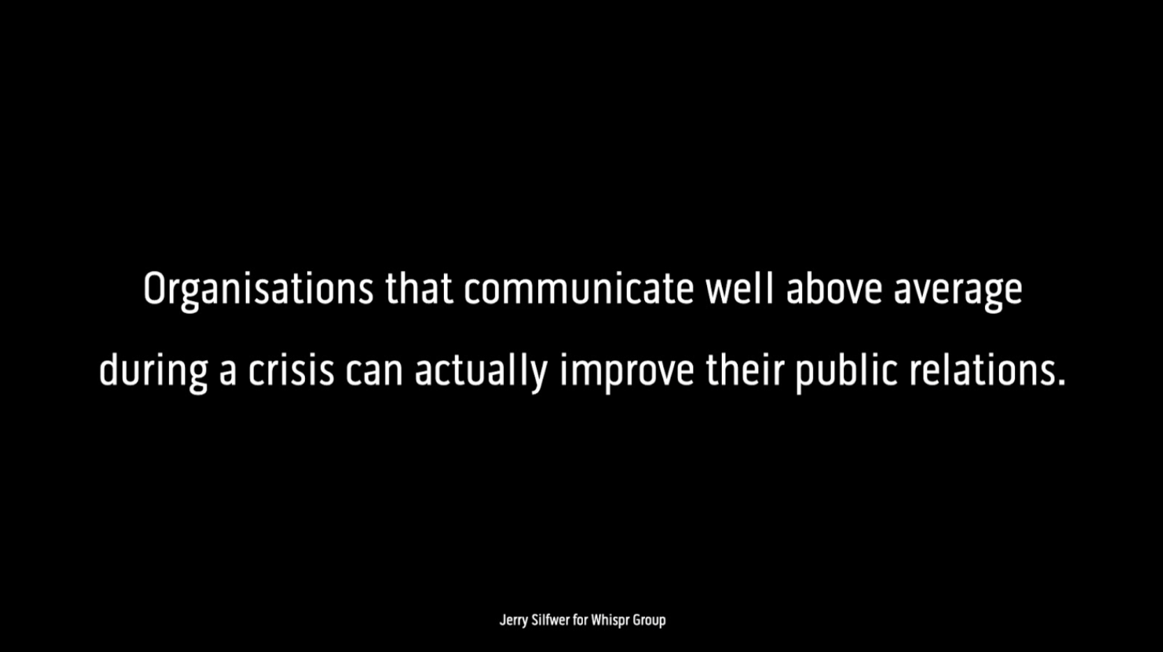 Whispr Group Communication Insights & Strategy