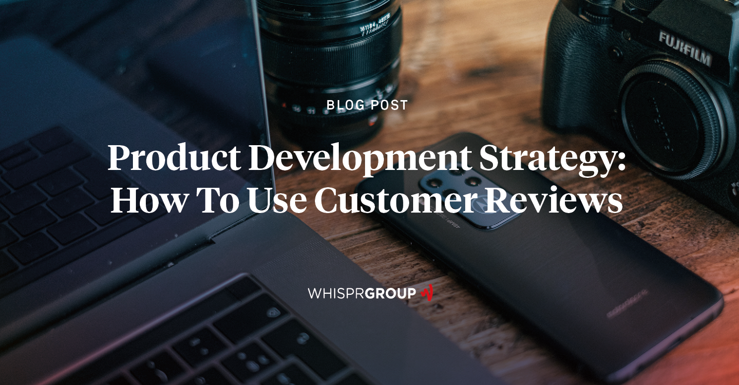 Insights from Customer Review analyse can improve product development dramatically